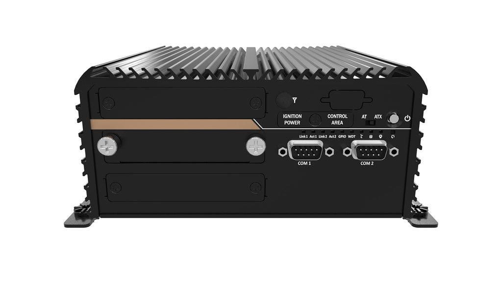 ACO-3011E Rugged Fanless In-Vehicle Computer with Intel Broadwell Processor, 1x PCIe x4