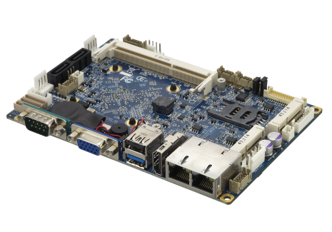 CT-DBT0x 3.5″ Single Board Computer with Intel® Atom™ E3800 Series/Celeron J1900 Embedded Processor Onboard