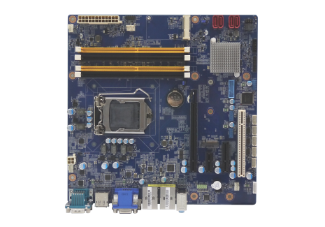 CT-MSL01 MicroATX Industrial Motherboard with LGA 1151 Socket for 6th Gen. Intel® Core™ i7/i5/i3 Processor, Q170 PCH