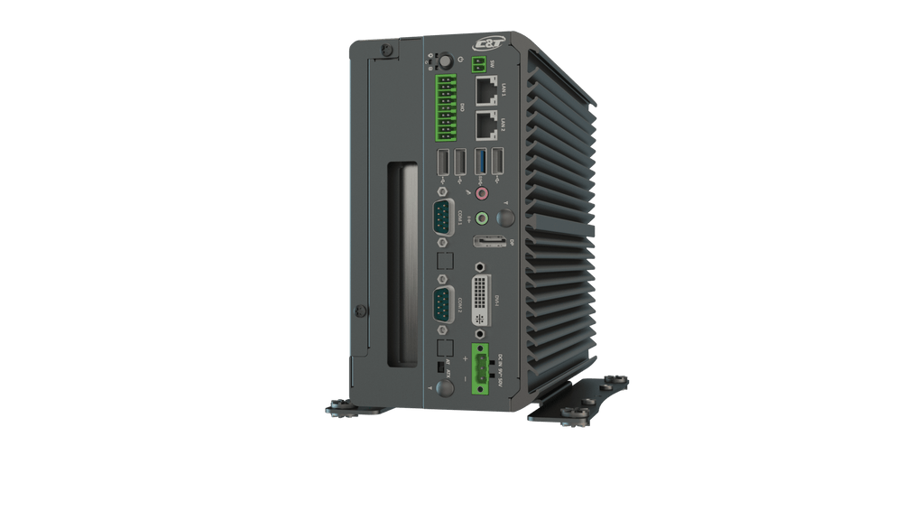 VCO-3111 Machine Vision Computer with Intel® Celeron® Processor J1900, 1x PCIe x4 or 1x PCI Expansion