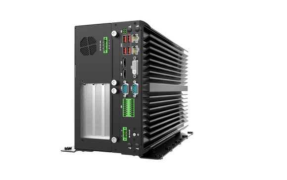 VCO-6133E-2PWR AI Edge Inference Computer with 8th/9th Gen Intel® Core™ Processor, 3x PCIe Expansion, Dual Power Input