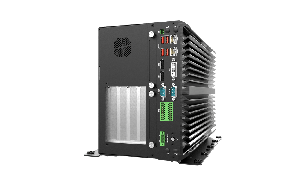 VCO-6144 Machine Vision Computer with 9th Gen Intel® Core™ CFL-R S Processor, 4x Expansion Slots