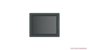 "VIO-110-PC400 10.4"" 4:3 IP65 Industrial Touchscreen Computer"
