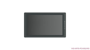 "VIO-W115-PC400 15.6"" 16:9 IP65 Industrial Touchscreen Computer"