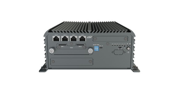 RCO-3211X-4X Advanced Fanless System with Intel® Pentium® Processor N4200, 6x LAN Or 2x LAN & 4x PoE  With 1 PCIe/PCI Expansion