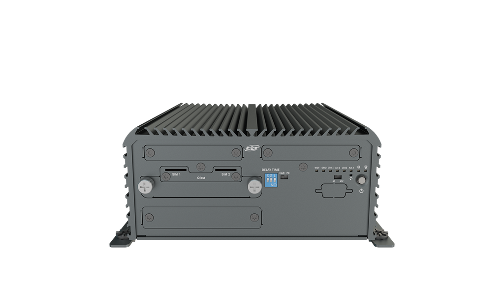 RCO-3211 Rugged Edge Computer with Intel® Pentium® Processor N4200, 2x LAN & 1x PCIe/PCI Expansion