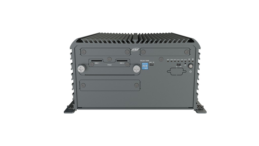RCO-3222 Rugged Edge Computer with Intel® Pentium® Processor N4200, 2x LAN, 2x Expansion Slots