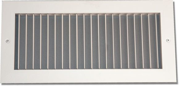 938 Series Steel 0-Degree Fixed Blade Grille