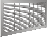 1301 Series Architectural Lattice Grille - Horizontal Slots - 75% Free Area