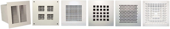 Some or our security grille options - please contact us for quotes