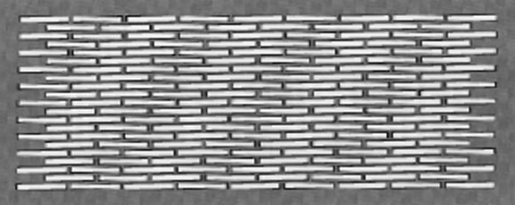 Architectural Lattice Grilles 1302-12x6