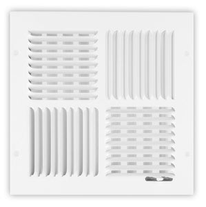 150 Series 4-Way Ceiling Diffuser - 12 x 12