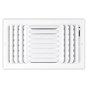 200 Series Curved Blade Diffuser - 12 x 08