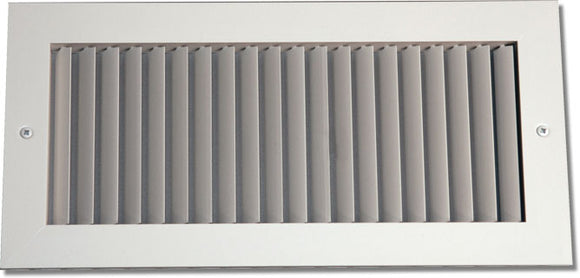 Aluminum Airfoil Blade Grille - Vertical Fixed Blade 906-14X8