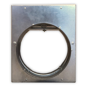 "2"" Round Horizontal/Vertical Mount Fire Damper 2550-8"