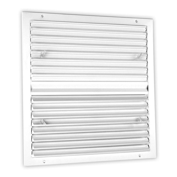 High-Velocity Multi-Louver Flush Diffuser 450-24X24