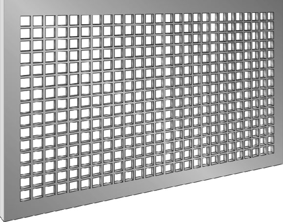 Architectural Lattice Grilles 1308-4x20