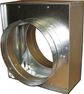 "4"" Round Vertical Mount Fire Damper 2649-20"