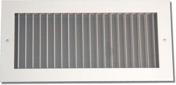 Aluminum Airfoil Blade Single Deflection Diffuser 902-18X44