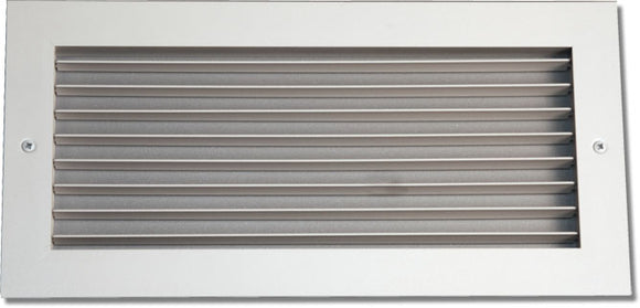 Steel Blade Grille - Vertical Fixed Blade 937-30X10