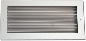 Steel Blade Grille - Vertical Fixed Blade 937-20X8