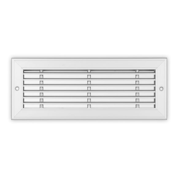 LSW-1/2-20 Series - Aluminum Linear Sidewall Grille For 4