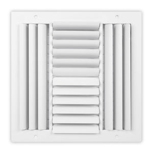 SCB Series Curved Blade Ceiling Diffuser - 10 x 10