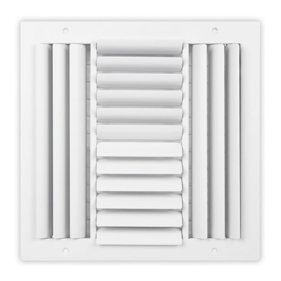 SCB Series Curved Blade Ceiling Diffuser - 08 x 08