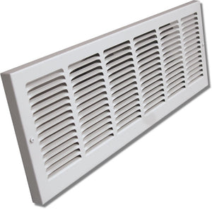 "Baseboard Return Air Grille With Optional 1/3"" Spaced Louvers 1133-30X6"