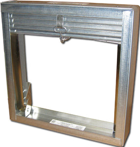 "2"" Horizontal/Vertical Mount Curtain Fire Damper 2502-24X18"