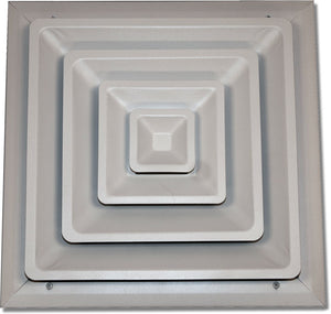 Step Down Ceiling Diffuser 100-6X6