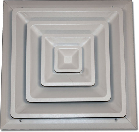 Step Down Ceiling Diffuser 100-24X24