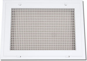 Aluminum Lattice Filter Grille 600FG-38X8