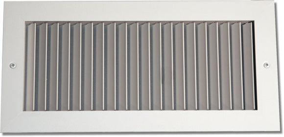 Steel Blade Grille - Horizontal Fixed Blade 936-20X20