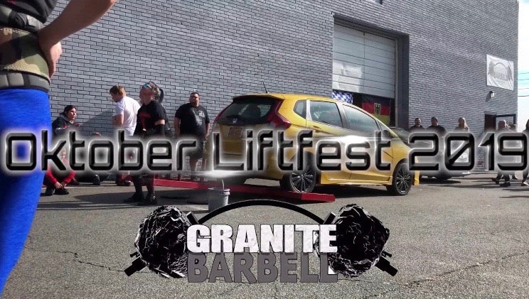 Cat5 Shows Out at Oktober Liftfest 2019 @GraniteBarbell