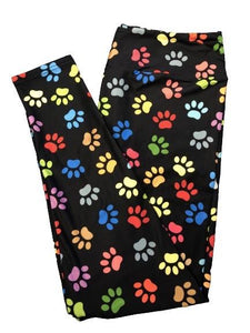 Rainbow Paws Full Length Leggings