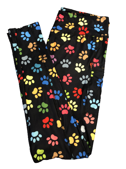 Rainbow Paws Full Length with Pockets