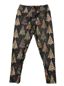 Christmas Tree Full Length Legging NO pocket