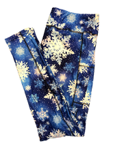 Load image into Gallery viewer, Snowflakes 2020 Full Length Legging WITH pockets