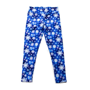 Snowflakes Full Length Legging NO pockets