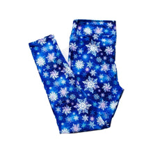 Load image into Gallery viewer, Snowflakes Full Length Legging NO pockets