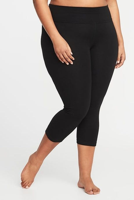 Black TC2 Soft Lounge Capris