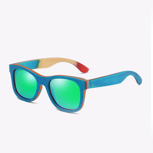 DuOuD Skateboarding Bamboo Sunglasses