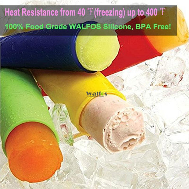 4pcs Ice Pop Maker, Silicone, 2 Sizes-Cool Gadgets-Gourmet Gadget Gal