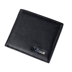 Smart Wallet Men Genuine Leather High Quality Anti Lost Intelligent Bluetooth Purse Male Card Holders Suit for IOS - Ace198