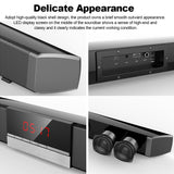 SR100 Plus Bluetooth Soundbar Home TV Speaker Wireless Subwoofer Remote Control Stereo Surround Sound 4*15W Speakers - Ace198