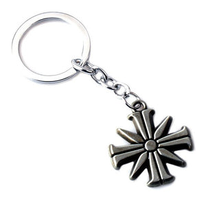 1 Piece Game FARCRY5 Far Cry 5 Keychain Necklace 3D Metal Keyring Pendant Collectibles Gift Cosplay Accessories