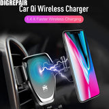 10w Qi Wireless Charger for IPhone X/XS Max XR 8Plus Fast Wireless Charging - Ace198