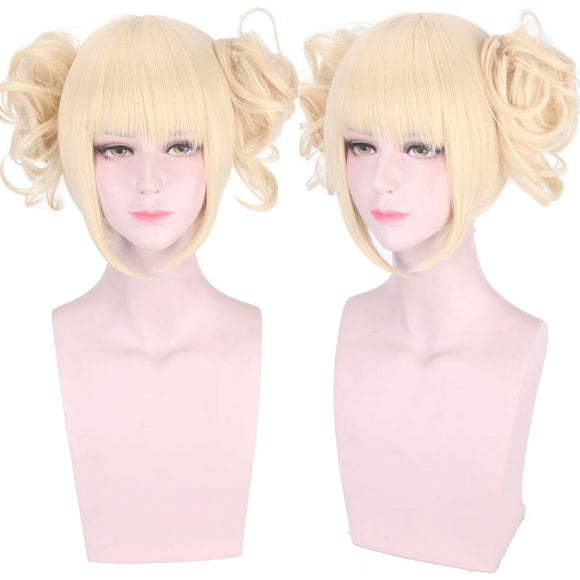 High quality Himiko Toga Cosplay Wig My Hero Academy Costume Play Wigs Halloween Costumes wigs