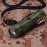 Waterproof Lighter USB Plasma Lighter Rechargeable Electric Lighter Waterproof with Flashlight Flameless Lighter Windproof Arc Lighter for Outdoor Camping Hiking (Camouflage)